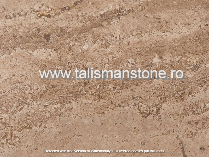 Travertin Noce lustruit, chituit 30x60x1.2 cm